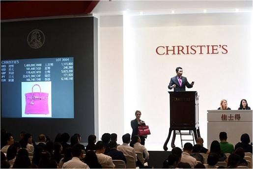 Most Expensive Hermès Birkin Bag Sold at Auction - Pink Crocodile Birkin  US 221000 - Christie dc3ac776b5dcc