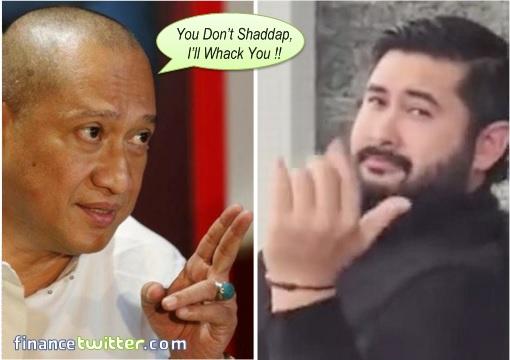 Nazri Aziz Wanna Whack Johor Crown Prince