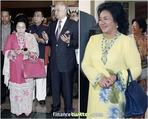 Rosmah Mansor - Auntie Rosy - Hermès Birkin Bags - 2