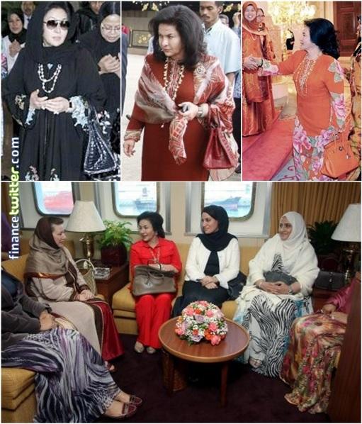 Rosmah Mansor - Auntie Rosy - Hermès Birkin Bags