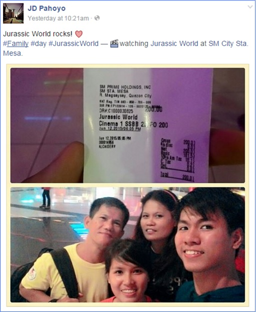 SEA Games - Filipino Divers Score Zero - John David Pahoyo Posted on Facebook Watch Jurassic Park