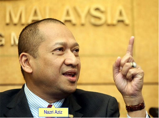 Tourism and Culture Minister Mohamed Nazri Abdul Aziz
