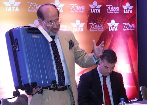 Travellers IATA New Carry-On Luggage - New Bag Sample