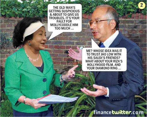 1MDB Scandal - How Najib Got Into Trouble From Mahathir - Comic 2