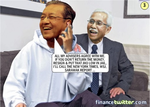 1MDB Scandal - How Najib Got Into Trouble From Mahathir - Comic 3