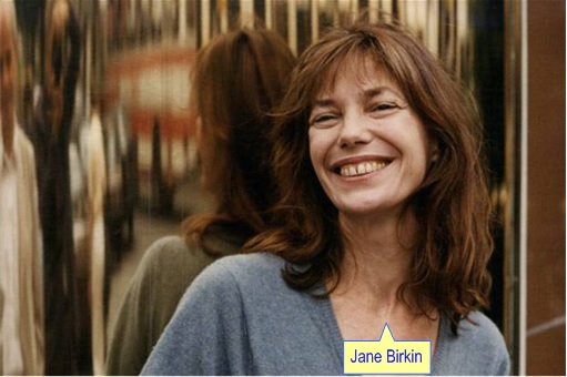British Jane Birkin