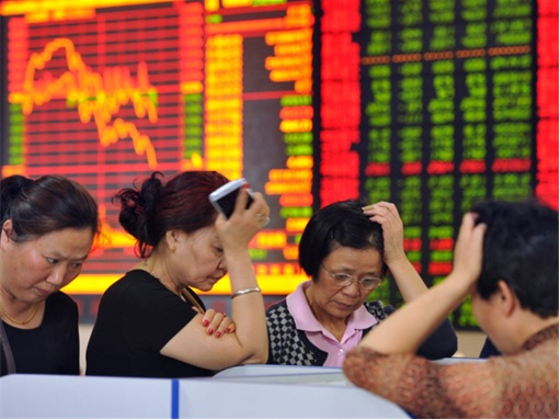 China Stock Market Collapse - Anxiety Syndrome
