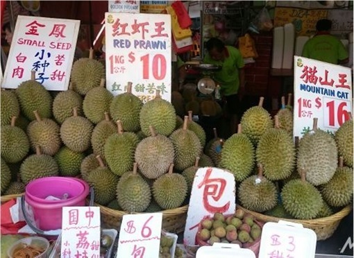 Durian Prices in Singapore