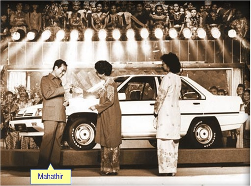 First Proton Saga Launching - Mahathir