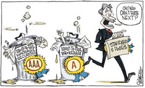 Fitch Ratings - Rushing to Rate Cartoon