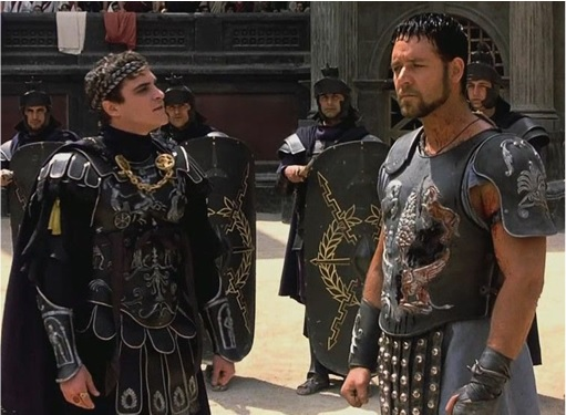 Gladiator - Emperor Commodus and General Maximus