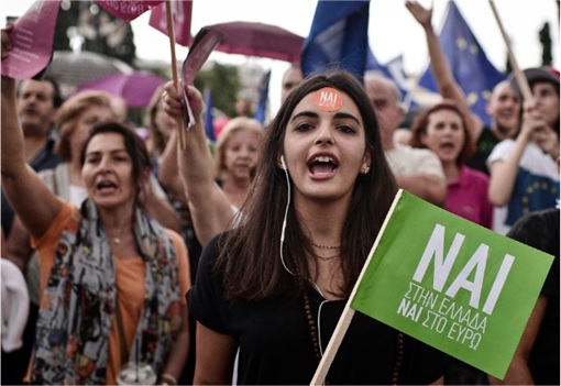Greece Voted No in Referendum 2015 - Vote NO