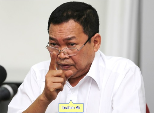 Ibrahim Ali - Giving Warning Gesture