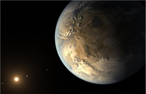 Kepler-452b View from Its Star