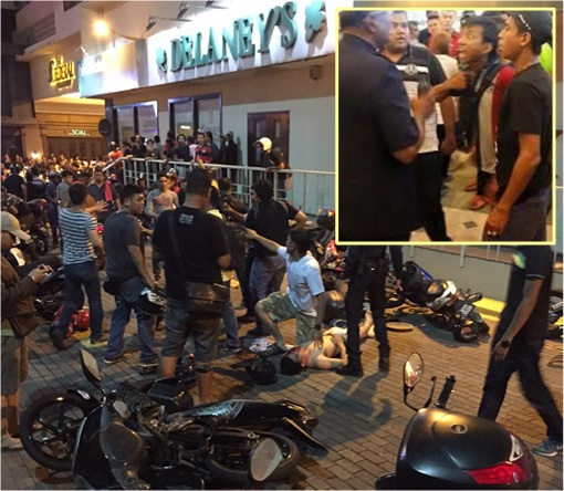 Low Yat Riot - Damages with Thugs Inset