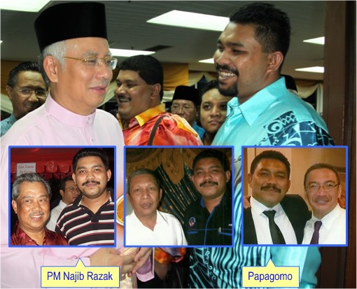 Low Yat Riot - Najib Razak and Papagomo - With Other UMNO Leaders
