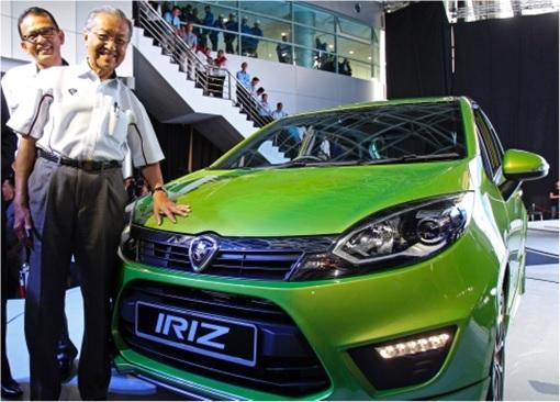 Mahathir Launches Proton Iriz