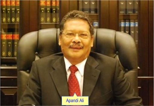Malaysian New Attorney General Apandi Ali