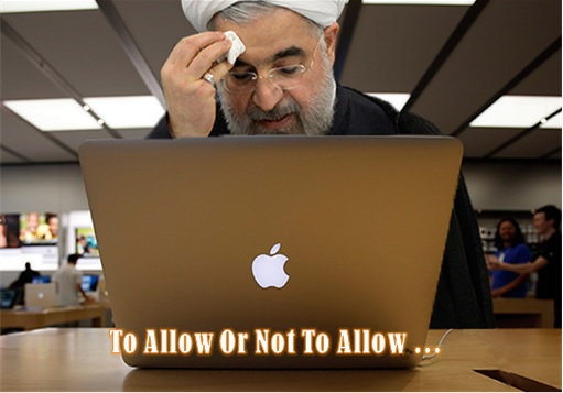 Nuclear Deal - Iran Tehran To Allow or Not To Allow Apple Store