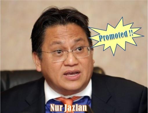 Nur Jazlan - Promoted as Deputy Home Minister