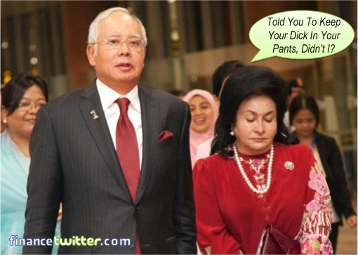 Rosmah Told Najib To Keep His Dick In His Pants