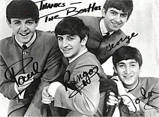 The Beatles - With Signatures