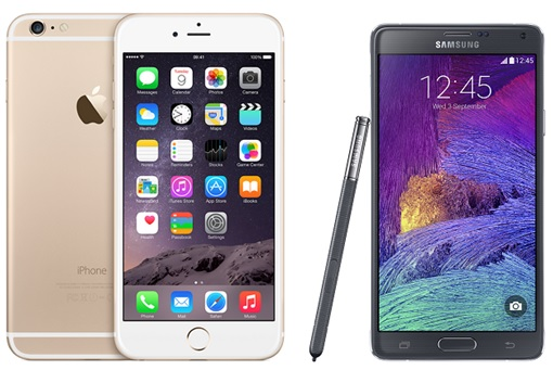 iPhone 6 vs Galaxy Note 4