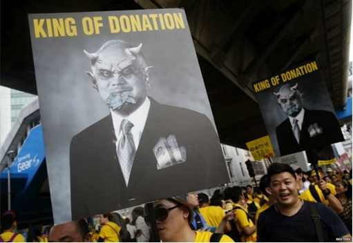 Bersih 4.0 - Charming and Creative Photo - Devil Najib King of Donation