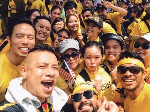 Bersih 4.0 - Charming and Creative Photo - Happy Smiling Selfie