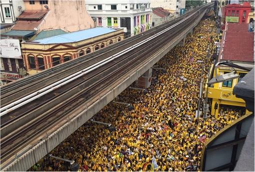 Bersih 4.0 - Crowd Pack to Brim - Yellow