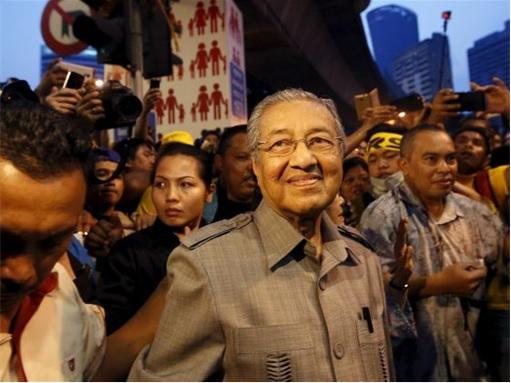 Bersih 4.0 - Mahathir Sudden Suprise Visit