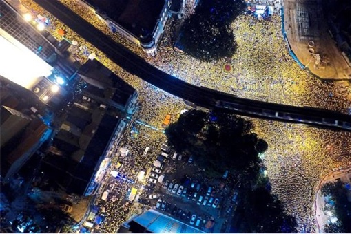Bersih 4.0 - Second Day Night Crowd - 300000
