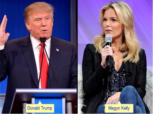 Debate - Donald Trump and Megyn Kelly