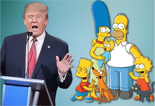 Donald Trump and The Simpsons