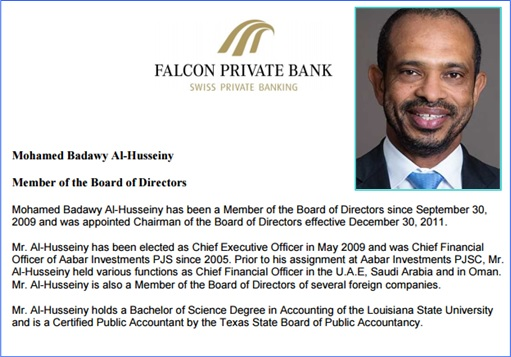Falcon Private Bank - Mohamed Badawy Al-Husseiny