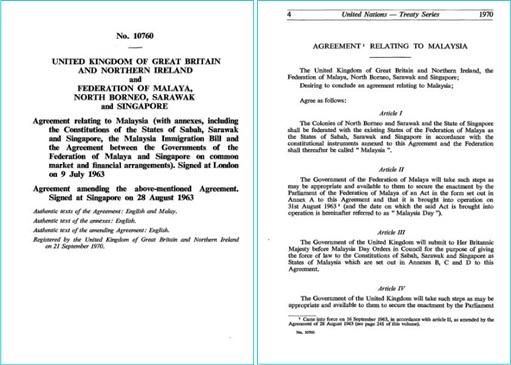 Malaysia Agreement 1963 Sample Agreement Financetwitter