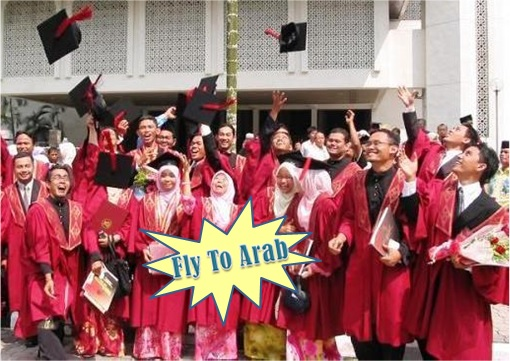Malaysian Graduates To Fly To Arab for Donations