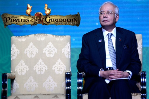 Najib Razak - Pirates of the Caribbean