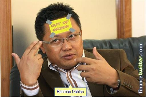 Rahman Dahlan With Out of Order Brain
