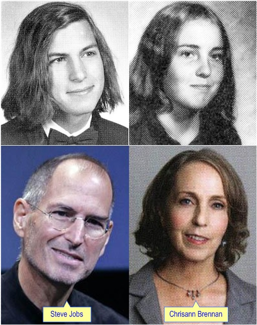 Steve Jobs and Chrisann Brennan - Photos During Young and Old
