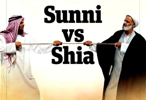 Sunni vs Shia Muslim - Pulling A Rope
