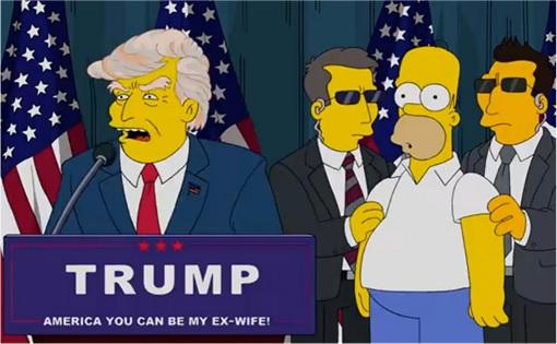 The Simpsons Prediction - Donald Trump President