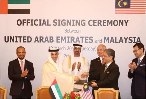 UAE Abu Dhabi and 1MDB Strategic Partnership Signing Ceremony