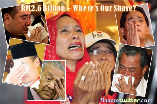 UMNO Supporters Cry - No Share From 1MDB Billion