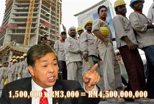 Zahid Hamidi Brother Bidding Bangladesh Workers Import