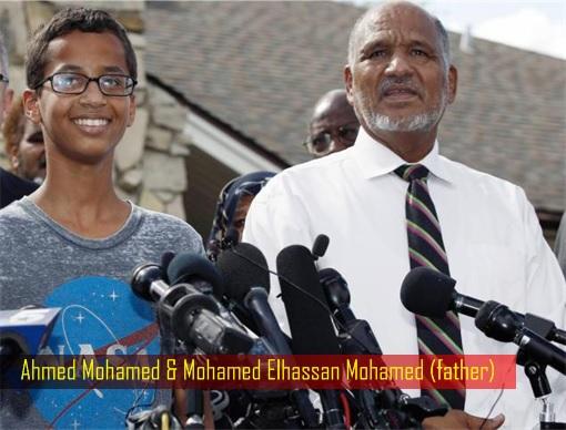 Ahmed Mohamed - Father Mohamed Elhassan Mohamed