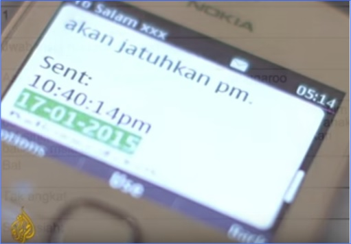 Altantuya Murder - Al-Jazeera - Sirul Phone Text Says Will Not Bring Down PM