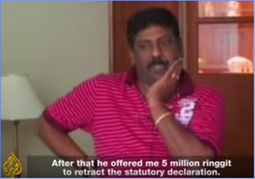 Altantuya Murder - Balasubramaniam - Offered 5 Million