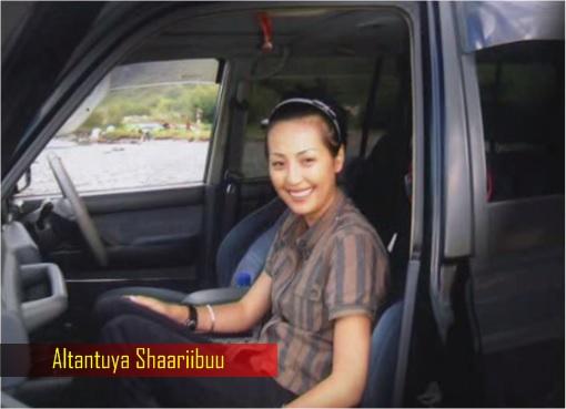 Altantuya-Shaariibuu - Sitting in MPV Van