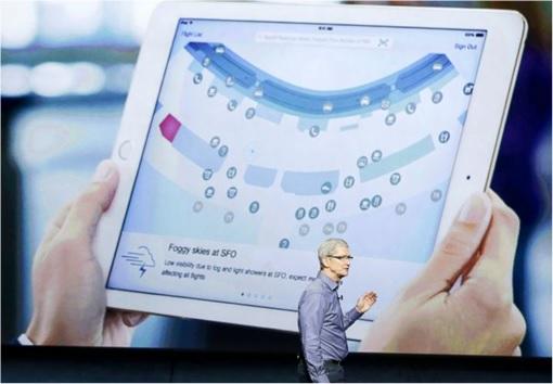 Apple iPad Pro - Tim Cook Showing